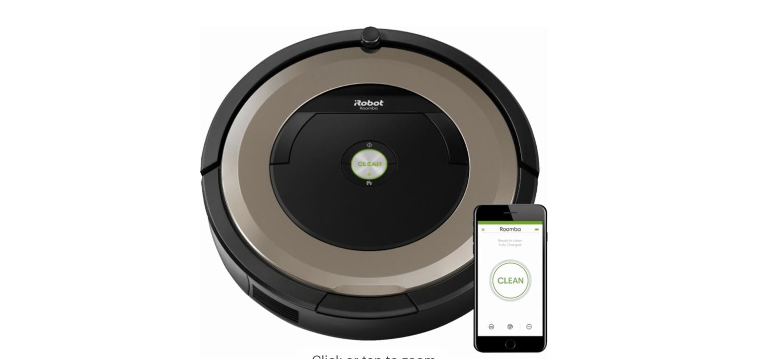 Roomba 891 robotic Vacuum