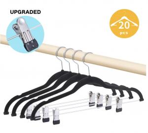 Premium Pants Hangers 20 Pack Non-Slip