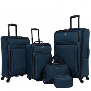 Skyline 5pc Luggage Set with Spinner Wheels
