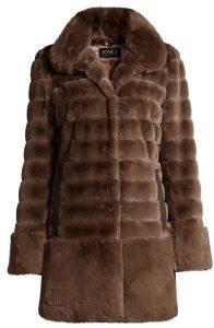woman's fur coat