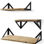 Floating Shelves rustic