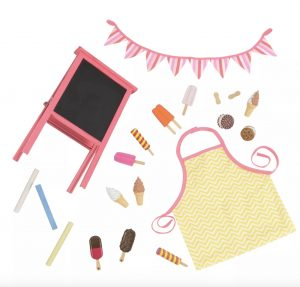 18 Inch Doll Accessory party set