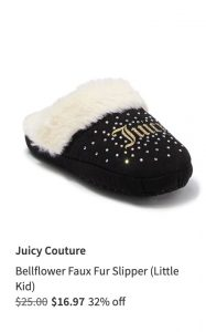 Juicy Couture Baby Slipper